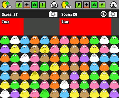 Pou: Minijuego Color Match