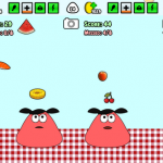 Pou: Minijuego Food Drop