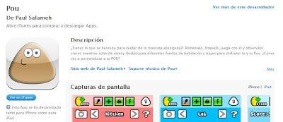 El tamagotchi Pou llega a iOS