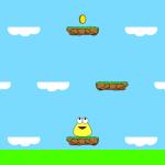 Pou: Minijuego Sky Hop